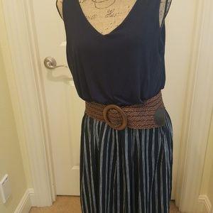 Ann Taylor Loft  Large PETITE maxi Dress NWT